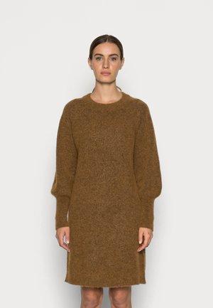 SLFSIF KAYA DRESS O NECK  - Jumper dress - rubber