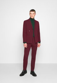 Lindbergh - DOUBLE BREASTED SUIT - SLIM FIT - Completo - bordeaux - 1