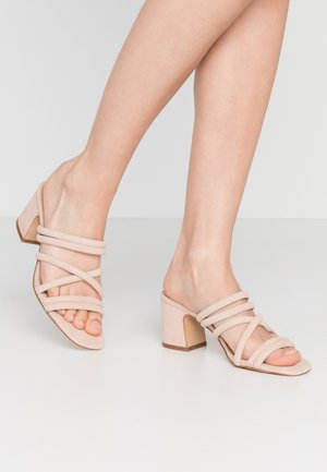 ATLANTA - Heeled mules - other orange