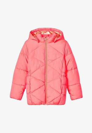 Winter coat - neon pink