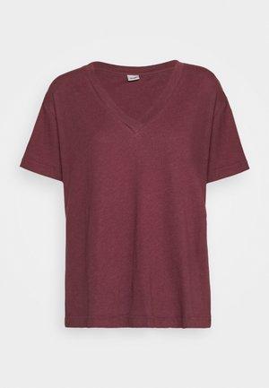 TANYA TEE - Basic T-shirt - dark dusty rose