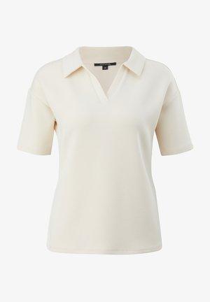 Polo shirt - cream