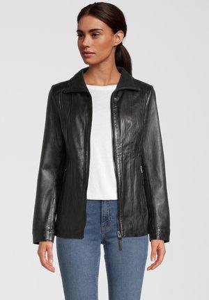 ALMA E - Leather jacket - black