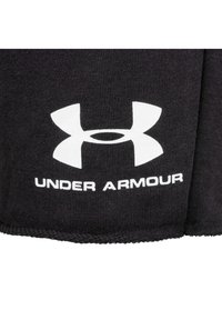 Under Armour - SPORTSTYLE TERRY  - Sports shorts - black - 5