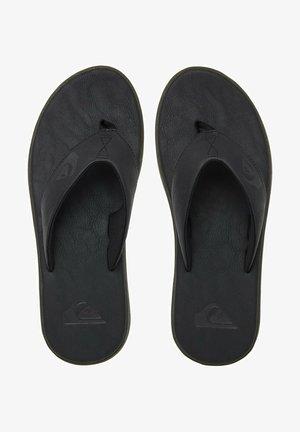 HALEIWA - T-bar sandals - solid black