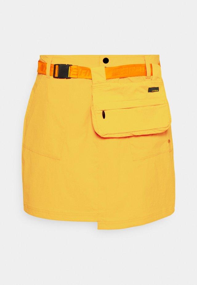 ESPANOLA - Sports skirt - yellow