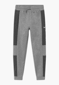 Nike Sportswear - Tracksuit bottoms - charcoal heather/grey heather/white - 0