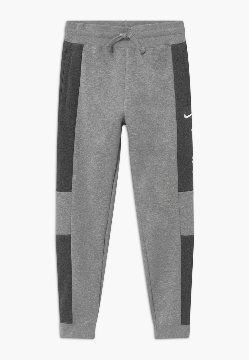 Nike Sportswear - Tracksuit bottoms - charcoal heather/grey heather/white