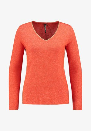 WLS LENA V-NECK - Jumper - orange