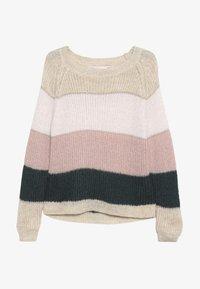 Kids ONLY - KONMALONE - Jumper - pumice stone/primrose pink/misty - 2