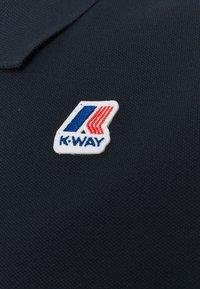 K-Way - VINCENT CONTRAST STRETCH UNISEX - Polo shirt - blue depth - 2