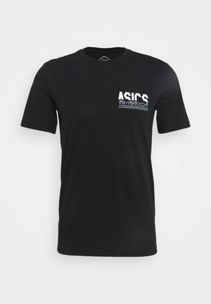 GRAPHIC TEE - T-shirt imprimé - performance black