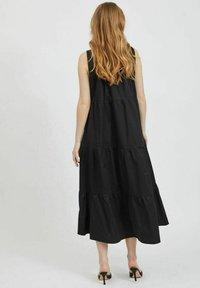 Vila - Maxi dress - black - 2