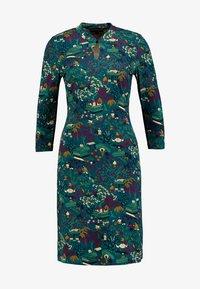 King Louie - CHINESE DRESS MANZAI - Trikoomekko - autumn blue - 4