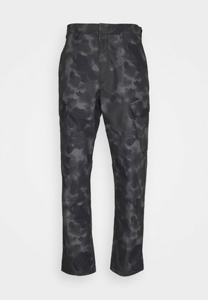CAMO CORBIN  - Pantaloni cargo - grey/black