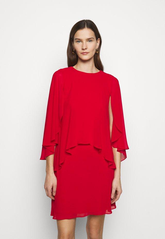 CLASSIC DRESS - Cocktail dress / Party dress - lipstick red