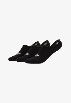 LOW CUT SOCK 3 PACK - Socks - black
