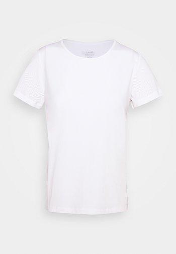 ICONIC TEE - Camiseta básica - white