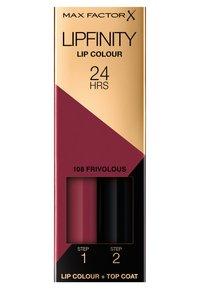 Max Factor - LIPFINITY - Liquid lipstick - 108 frivolous - 1