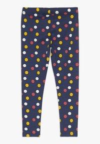 Lemon Beret - SMALL GIRLS 2 PACK - Leggings - Trousers - medieval blue - 1