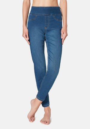 MIT HOHER TAILLE - Jeans Skinny Fit - blue