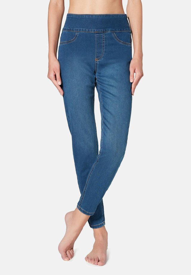 MIT HOHER TAILLE - Jeans Skinny - blue