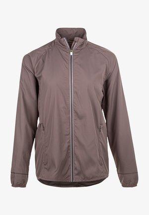 SHELA - Training jacket - iron