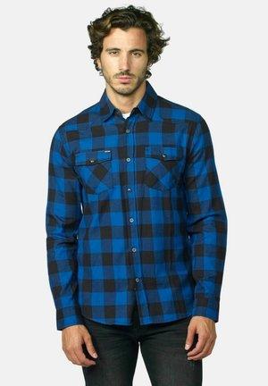 manga larga - Camisa - azul