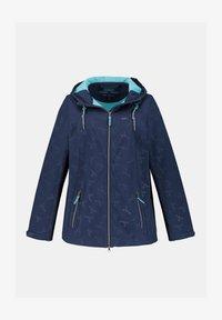Ulla Popken - Soft shell jacket - dunkelblau - 2