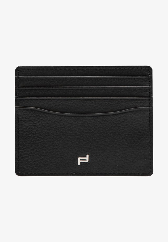FRENCH CLASSIC 4.1 - Business card holder - black