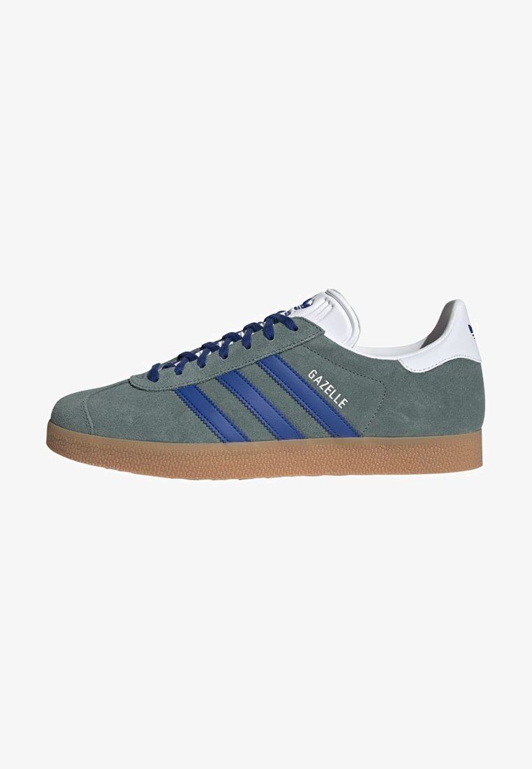adidas Originals - GAZELLE UNISEX - Sneakers basse - hazy emeraldteam royal blue gum
