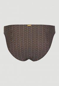 O'Neill - RITA BOTTOM - Bikini bottoms - black with yellow - 5