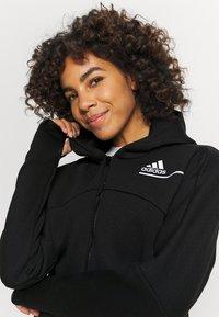 adidas Performance - ZNE - Zip-up hoodie - black - 3