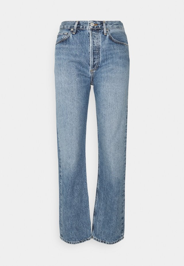 NAVIGATE 90S PINCH - Straight leg jeans - light indigo
