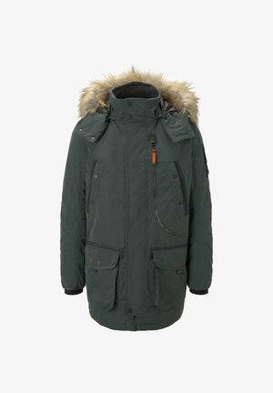 Winter coat - dark gable green