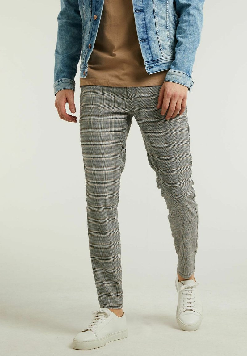 CHASIN' - Trousers - light grey