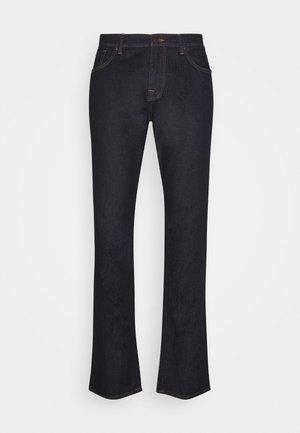SLHSLIM LEON RINSE - Slim fit jeans - dark blue denim