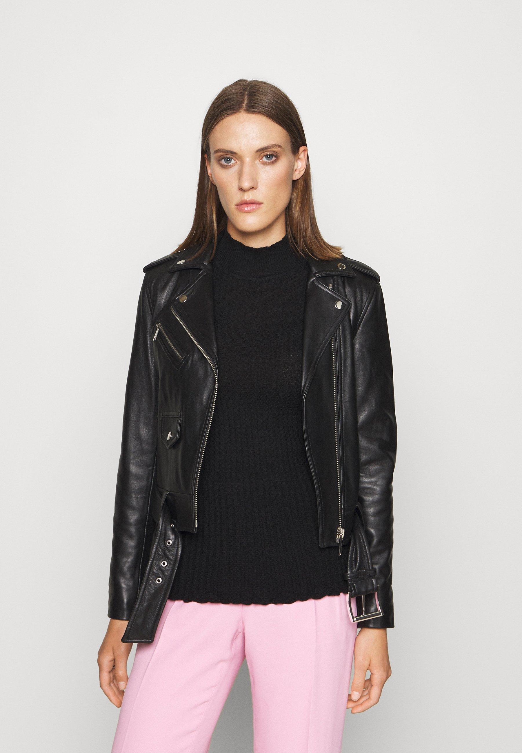 Femme CLASSIC MOTO - Veste en cuir