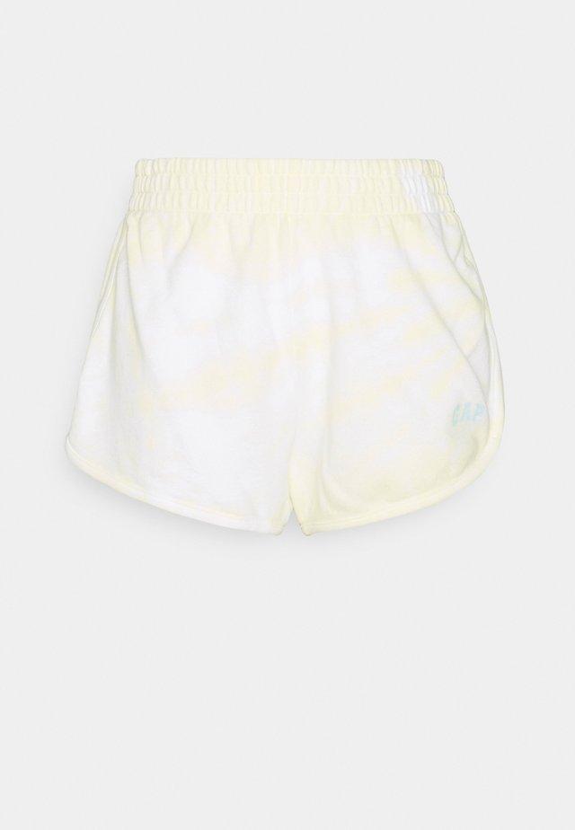EASY DOLPHIN - Shorts - yellow