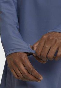adidas Performance - ADI PBSW TOP SWIM SPORTS WATERSPORTS PRIMEBLUE NYLON RASH GUARD - Long sleeved top - purple - 6