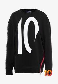 KARL LAGERFELD - TERRY - Sweater - black /white - 4