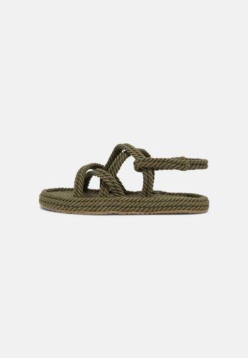 SAFARI - Sandals - green