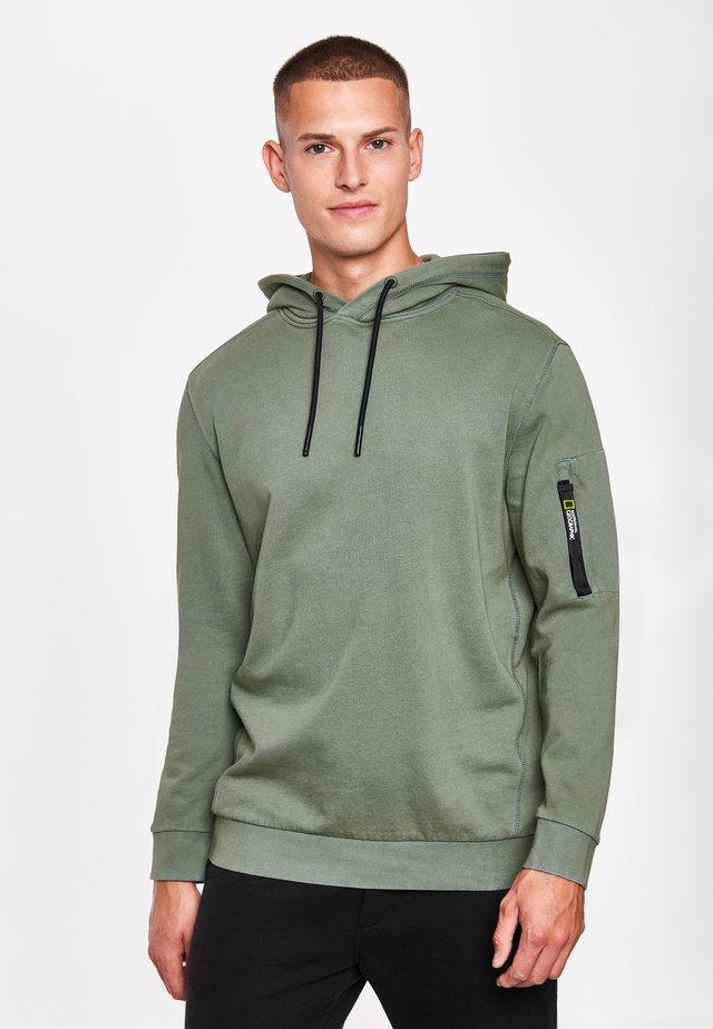 Hoodie - agave green