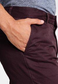 Pier One - Shorts - bordeaux - 4