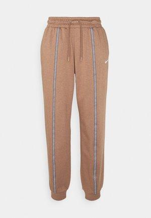 Pantalones deportivos - archaeo brown/white
