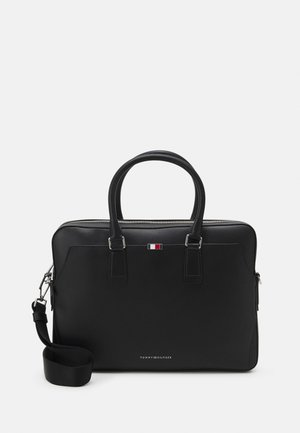 BUSINESS SLIM COMP BAG - Briefcase - black