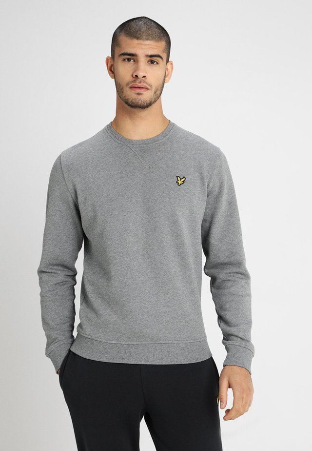 Sweater - mid grey marl
