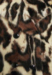 Pinko - FEDELINO KABAN - Winter coat - nero/bianco/marone - 2