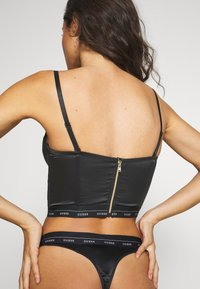 Guess - BUSTIER - Multiway / Strapless bra - jet black - 6