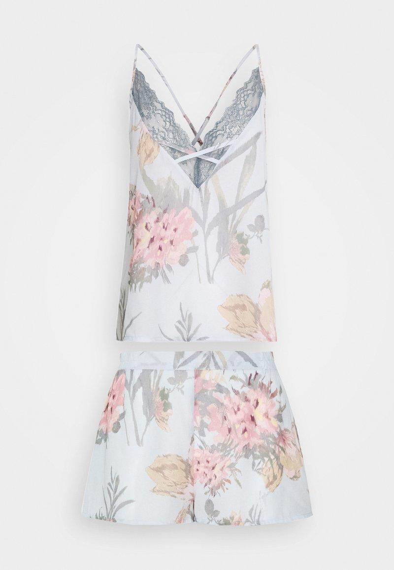 Women Secret - SHORT FLOWER - Pyjamas - multicolor